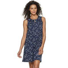 eb2dd54f0d4a Women's Croft & Barrow® Pintuck Keyhole Nightgown