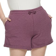 Juniors' Plus Size SO® Core Midi Shorts