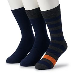 Men's Dockers® 3-pack Classic Cushioned Casual Crew Socks