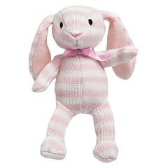 FAO Schwarz 4-inch Striped Plush Bunny