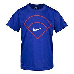 Boys 4-7 Nike Dri-FIT Baseball Logo Graphic Tee