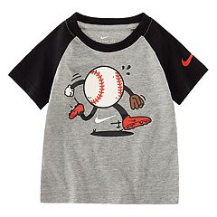 Boys 4-7 Nike Baseball Character Raglan Tee