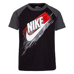 Boys 4-7 Nike Raglan Halftone Stroke Graphic Tee