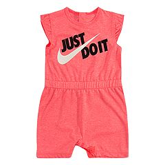 Baby Girl Nike 'Just Do It' Romper