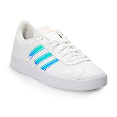 4d08a5b5ac73 adidas VL Court 2.0 Girls  Sneakers. White Iridescent. Regular