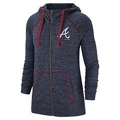 Women's Nike Atlanta Braves Full Zip Fleece