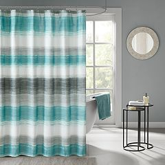 Madison Park Essentials Barret Printed Shower Curtain