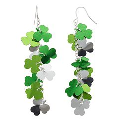 Ballet Group Inc. Shamrock Cluster Earrings