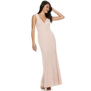 206d7a2a73e Juniors  IZ Byer Double Slit Maxi Dress