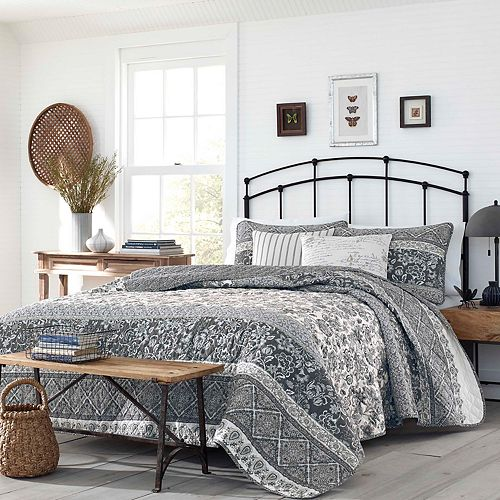 Stone Cottage Abbey Quilt Set