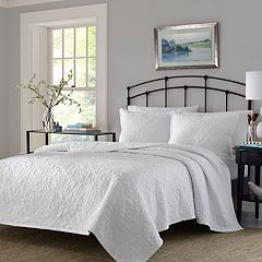 Stone Cottage Burch White Quilt Set