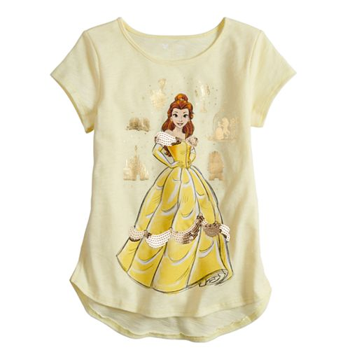 Disney's Beauty & The Beast Belle Toddler Girl Graphic Tee by Jumping Beans®
