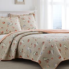 Laura Ashley Weekly Getaway Quilt Set