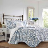 Laura Ashley Aimee Quilt Set