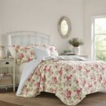 Laura Ashley Willa Quilt Set