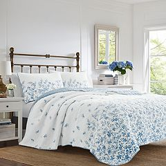 651c4ea8add47 Laura Ashley Flora Quilt Set