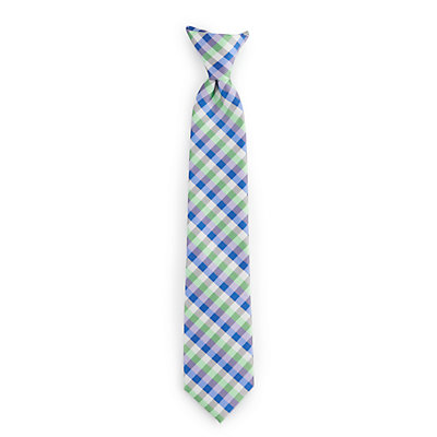 Boys 4-20 Chaps Printed Clip-On Tie