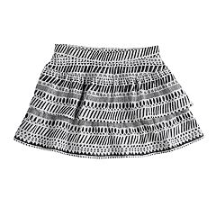 Girls 4-12 Jumping Beans® Tiered Print Skort