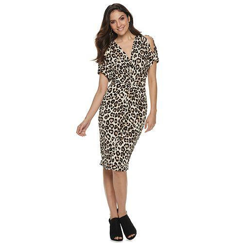 Leapard Dress
