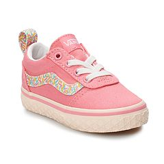c81cc2f4e2 Vans Ward Toddler Girls  Skate Shoes