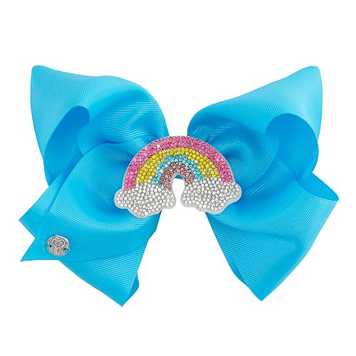 Girls JoJo Siwa Rainbow Hair Bow