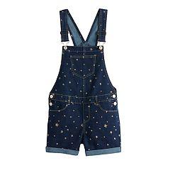 6cf083af3130a Waist Tank Dress. Girls 7-16 & Plus Size SO® Embellished Shortalls