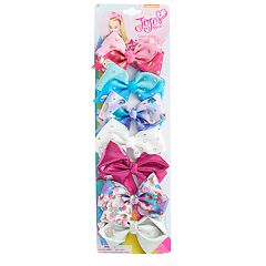 Girls JoJo Siwa 7-pack Mini Hair Bow Set