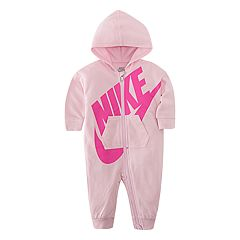 Baby Girl Nike Hooded Coverall