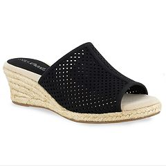 Easy Street Mandy Women's Espadrille Slide Sandal