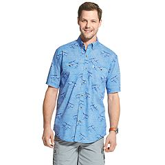 Men's G.H. Bass Bluewater Bay Patterned Button-Down Shirt