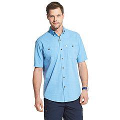 9490096014 Men s G.H. Bass Salt Cove Surfwash Button-Down Shirt