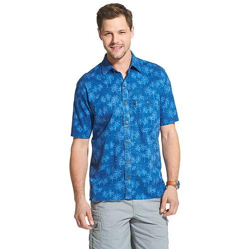 Men's G.H. Bass Salt Cove Slubbed Button-Down Shirt