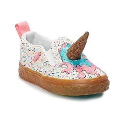 Vans Asher V Toddler Girls' Ice Cream Skate Shoes