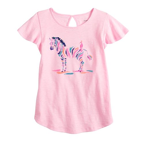 Girls 4-12 SONOMA Goods for Life™ Graphic Flutter Tee