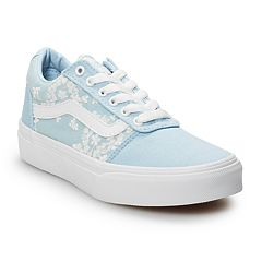 Vans Ward Girls' Flowers Skate Shoes