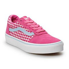 85a59d8e88ccc1 Vans Ward Girls  Checkered Skate Shoes
