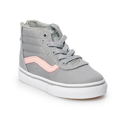 Vans Ward Hi Zip Girls' Skate Shoes