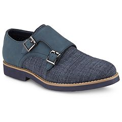 Xray Donnegal Men's Monk Strap Dress Shoes