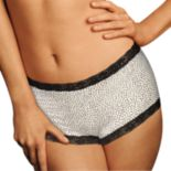 Maidenform Microfiber Lace-Trim Boyshorts 40760 - Women's