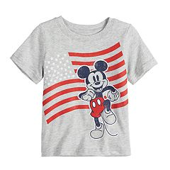 Disney's Mickey Mouse Baby Boy American Flag Graphic Tee by Jumping Beans®