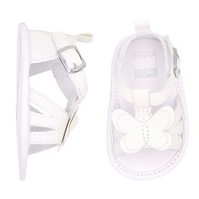 Baby Girl Carter's Butterfly Sandal Crib Shoes