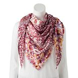 Women's SONOMA Goods for Life? Printed Triangle Scarf