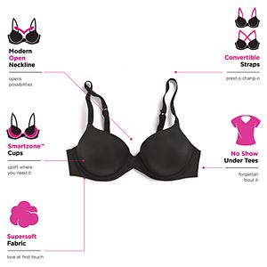 Women's Maidenform One Fabulous Fit Underwire T-Shirt Bra DM7543