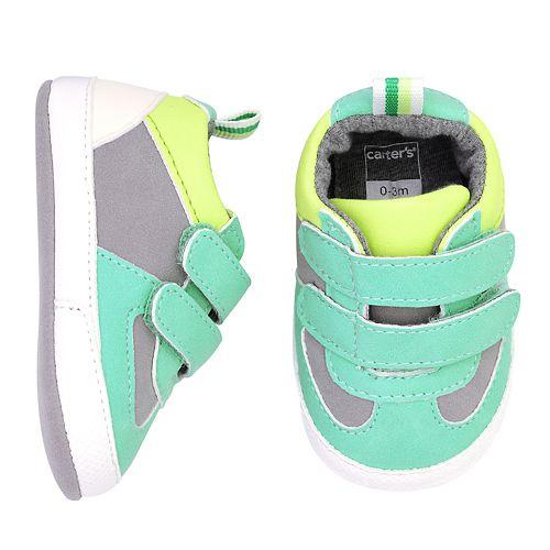 Baby Boy Carter's Double Strap Sneaker Crib Shoes