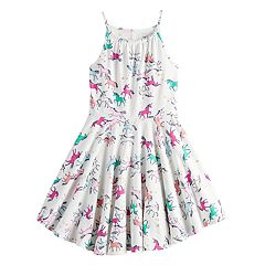 Girls 4-12 SONOMA Goods for Life™ Printed Skater Dress