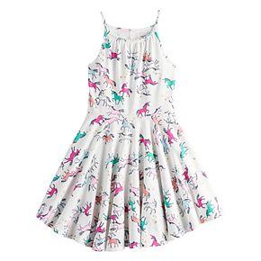 Girls 4-12 SONOMA Goods for Life? Printed Skater Dress