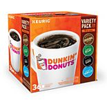 Dunkin' Donuts Variety Pack, Keurig® K-Cup® Pods - 36-pk.