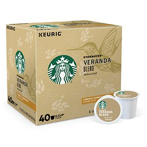 Starbucks Veranda Blend Coffee, Keurig® K-Cup® Pods, Light Roast, 40 Count