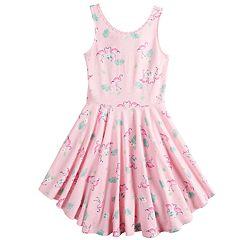 2e609da29d3 Girls 4-12 SONOMA Goods for Life™ Printed Skater Dress