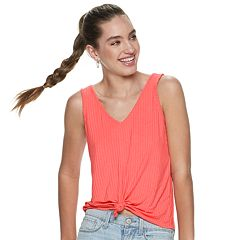 b3250b305ac61 Juniors  Mudd® Ribbed Tank Top